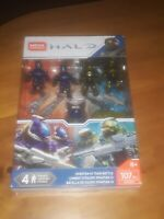 Mega Construx Halo Spartan-IV Team Battle Figures Set GCM37 NEW!