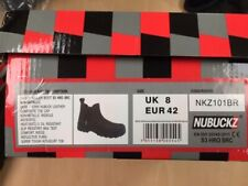 BUCKLER SAFETY DEALER BOOTS (SIZE11)