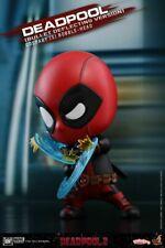 Hot Toys COSB507 Deadpool Bullet Deflecting Version Cosbaby Doll Figure Model