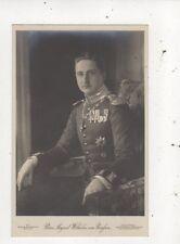 Prinz August Wilhelm Von Preussen RP Postcard Germany Royalty 042b