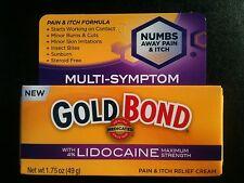 Gold Bond Maximum Strength Pain & Itch Relief Cream with Lidocaine 1.75oz