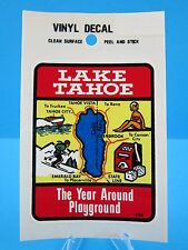 "VINTAGE....""LAKE TAHOE""  STICKER / DECAL  (WOW... GREAT PRICE !)  VERY NICE"