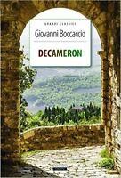 Decameron di Giovanni Boccaccio LIBRO Nuovo Crescere Edizioni IL DECAMERONE
