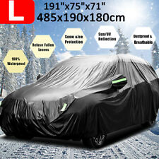 420D Oxford Full SUV Car Cover Waterproof Dust Rain Resistant Protector Black US
