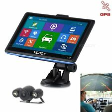 "XGODY 718 7"" GPS Navigation BT + Wireless Reverse Camera LED Night Vision"