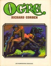 RARE EO RICHARD CORBEN : OGRE