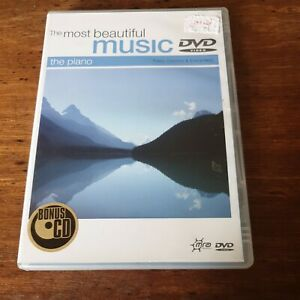 The Most Beautiful Music The Piano DVD R4 Like New! FREE POST