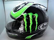 Arai Full Face Helmet Corsair V Cal Crutchlow MONSTER Energy 2XL Moto GP NICE