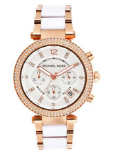 *NEW* MICHAEL KORS MK5774 ROSE GOLD PARKER LADIES WOMENS WATCH 2 YRS WARRANTY