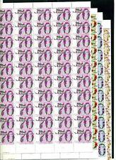 NVPH 1262-1265 complete vellen van 100 postfris