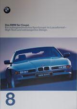 Prospekt BMW 8er 840Ci 850Ci 850CSi (E31 Coupe) 01/97 - 38 Seiten