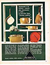PUBLICITE ADVERTISING 024   1967   AUBECQ  casseroles   LE CHARME