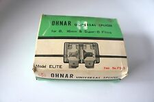 "VINTAGE OHNAR UNIVERSAL SPLICER: FS-3 MODEL ""ELITE"""
