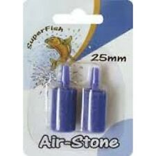 Superfish Airstone Cylindrical Air Line Pump Filter Tropical Discus Marine Fish