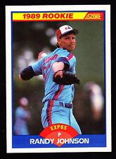 1989 SCORE #645 RANDY JOHNSON EXPOS ROOKIE