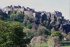 738074 Edinburgh Castle From Pricess Street Scotland A4 Photo Print