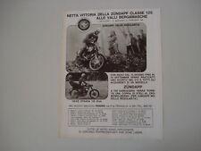 advertising Pubblicità 1971 ZUNDAPP 125 GS REGOLARITA'