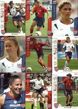 2004 Women Olympic Gold Medal soccer cards Joy Fawcett
