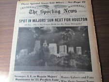 12/14/54  COMPLETE SPORTING NEWS '-CONTEMPLATING A MOVE TO HOUSTON