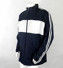 New Navy and White Mens Waterproof Jacket by Phase One Teamwear    Size XXL