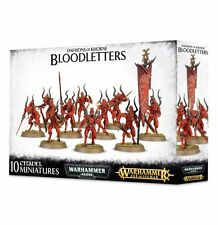 - BLOODLETTERS OF KHORNE- WARHAMMER 40,000 40K - GAMES WORKSHOP -