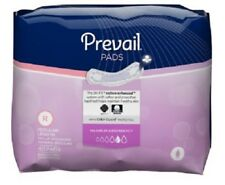 """Prevail Bladder Control Pad, 11"""" Maximum, Heavy Absorbency, PV-916 - Case of 192"""
