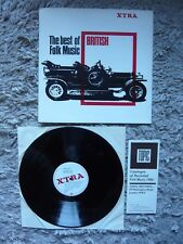 The Best Of British Folk Vinyl 1966 UK 1st Press XTRA LP Topic 1966 Catalogue EX