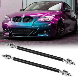 """8""""-11"""" Adjustable Rod Bar Stabilizer Bumper Lip Diffuser Splitter Strut For BMW"""