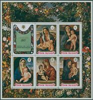 Cook Islands 1971 SG370 Christmas MS MLH