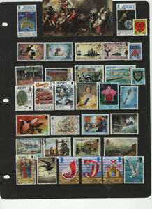 GREAT BRITAIN - CHANEL ISLANDS JERSEY - GUERNSEY USED 4 SCANS LOT 2