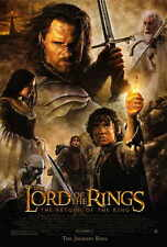 LORD OF THE RINGS: THE RETURN OF THE KING Movie POSTER 27x40 Elijah Wood