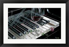 """Key To Wine "", by Michael Godard, Framed wall Art ,36x27"