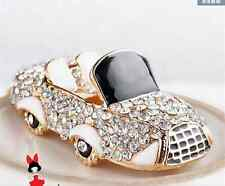 car Keychain Rhinestone Crystal Keyring Key Ring Chain Bag Charm Pendant Gift