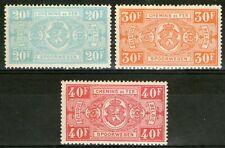 BELGIQUE:  Colis postaux n°256+257+258 **  (cote 42€)