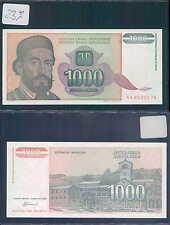 YUGOSLAVIA 1000 DINARA 1994 UNC (rif. 237)