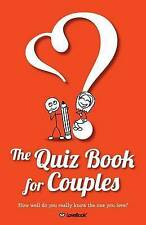 Very Good, The Quiz Book for Couples, Lovebook, Book