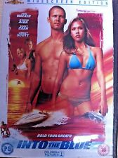 Paul Walker Jessica Alba INTO THE BLUE ~ 2005 Action Thriller Acceptable UK DVD