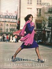 1984 Vintage Antique AVON Sales Catalog Book Brochure Campaign 20