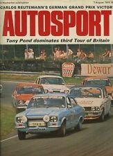 Autosport August 7th 1975 *German Grand Prix*