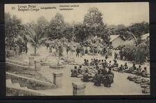 Congo Belge-CP/PK 55 Leopoldville-Chameaux-Caravane-Kamelen-5 CentimesVert/Groen