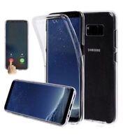 Fully Cuerpo 360 Funda de Silicona para Samsung Galaxy S8 S9 Plus A5 J3 J5 2017