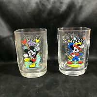 Pair of McDonalds Disneyland 2000 Collectors Glasses