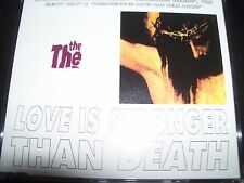 The The ‎– Love Is Stronger Than Death Australian CD Single – Like New