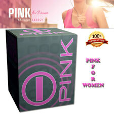 PINK for WOMEN by BHIP GLOBAL Natural Energy & Fitness with Dietary Supplements,