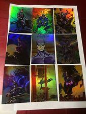 Phantom Gallery Legends 9 Card Set Intrepid 1996