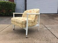 Mid Century Modern Selig Lounge Chair Denmark Wegner