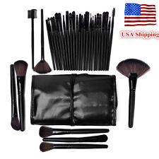 32pcs Pro Makeup Brushes Set Eyeshadow Eyeliner Lip Brush Powder Foundation Tool