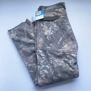 Columbia PHG Gallatin Lite Wool Blend Pants Timberwolf Digital Camo - Size Large
