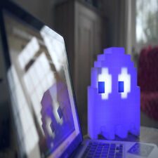 Color-changing Pac-man USB Ghost Lamp Sound-reactive Room Decor Table Night Lamp