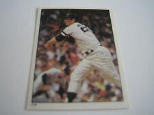 1981 Topps Baseball Tommy John Sticker #114***New York Yankees***